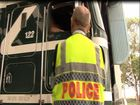 Truckie charged in crackdown