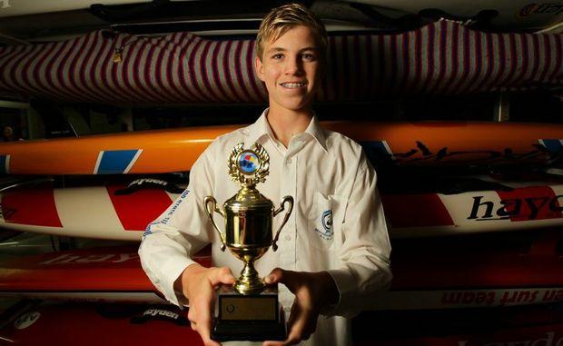 Matt Barclay won his division at Coolangatta Gold.  Photo: Cade Mooney / Sunshine Coast Daily