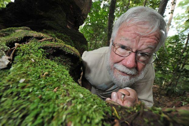 Mushroom expert Patrick Leonard knows his mushrooms.