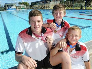 Swimmers bag medals at titiles