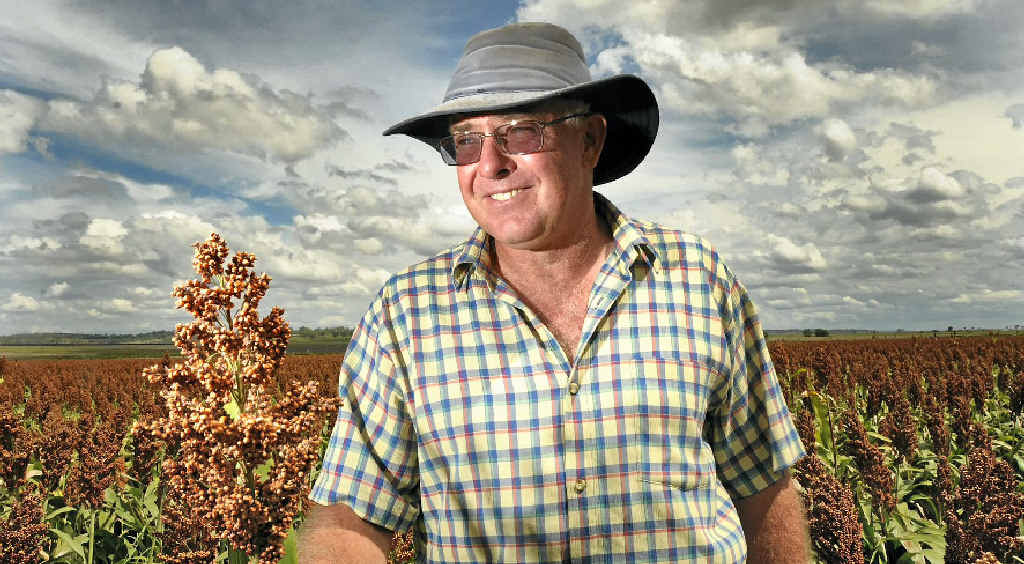 Felton Farmer Peter Free, who operates his farm with his father Bob, is excited to see LNP taking steps to protect precious farming land.