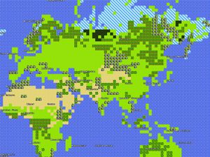 April Fools: 8-bit Google Maps