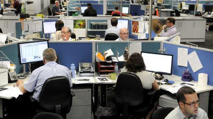 Toowoomba Chronicle newsroom.