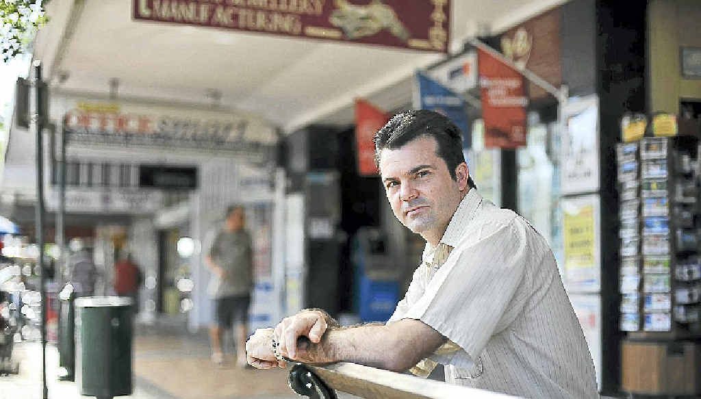 Bundaberg Chamber of Commerce president Dion Taylor broadly supports seven-day trading.