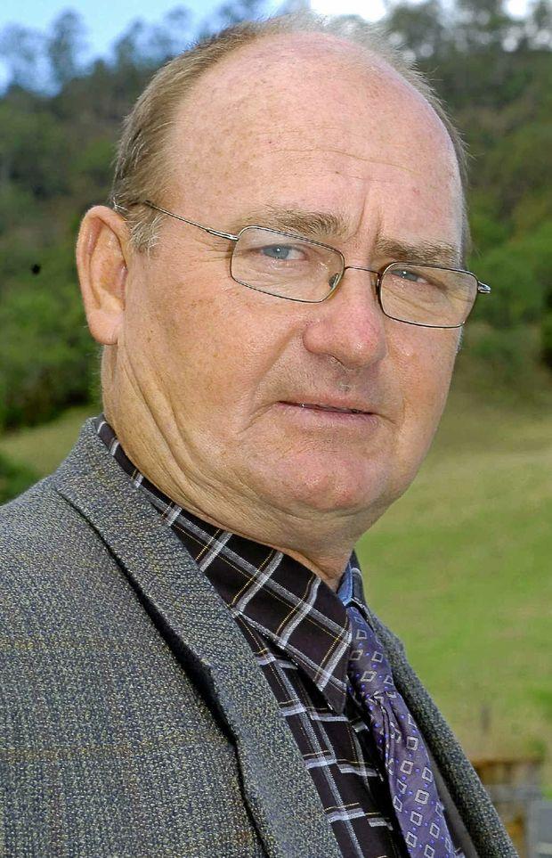 Cr Ernie Bennett.