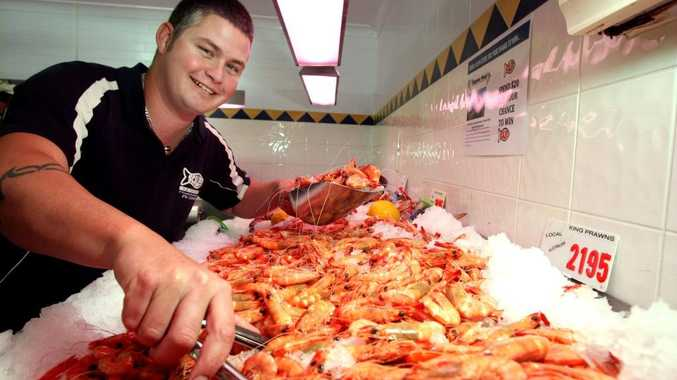 Jay Taws at Scales Seafood is ready for the Easter holidays.