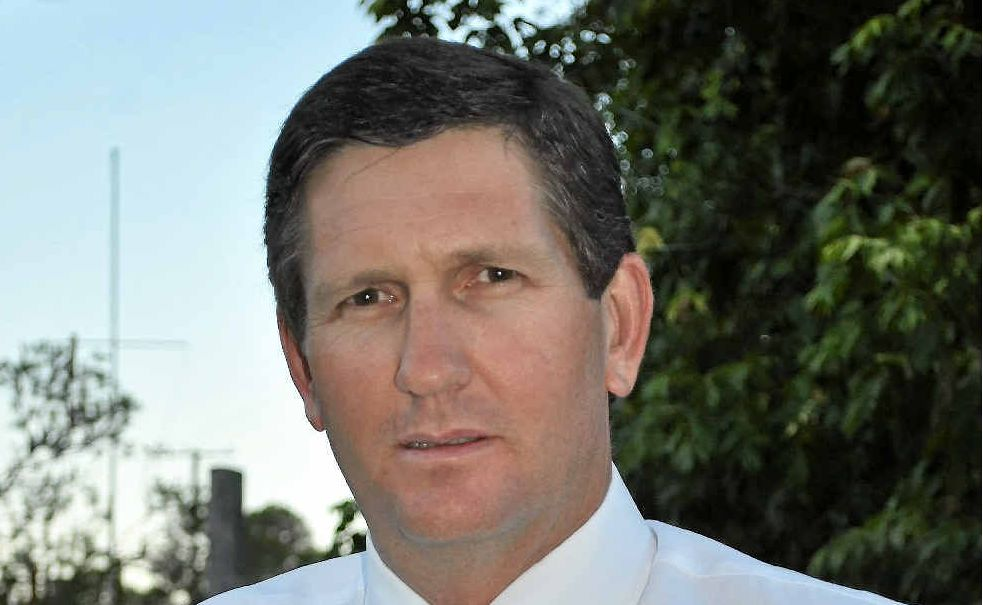 HIGH ON LIST: Lawrence Springborg vows to make the Southern Downs a priority.