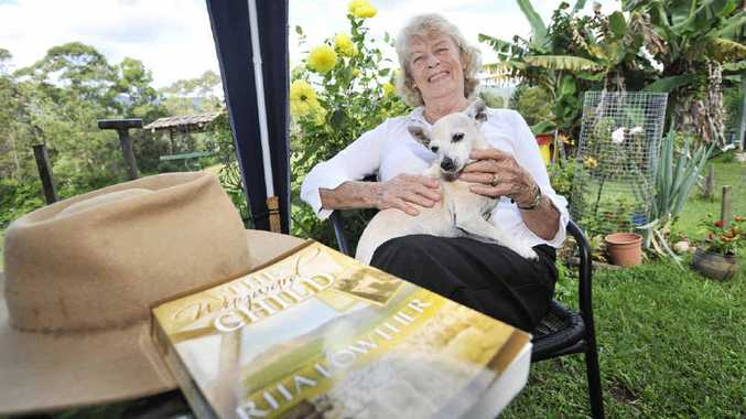 Local author Rita Lowther has watched her book The Wayward Child become an overnight success. It took 10 months to write and had three re-writes.