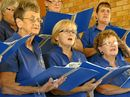 THE sound of music hummed from walls of Gladstone Presbyterian Church yesterday.