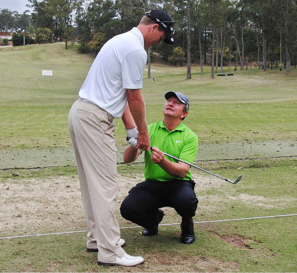 Brookwater Golf Course professional Ian Triggs is at Augusta and believes his star pupil John Senden can upset a quality field at the US Masters.