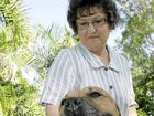 Rockhampton's Rene McDonald is glad to have her dog Buddha back home after he went missing.