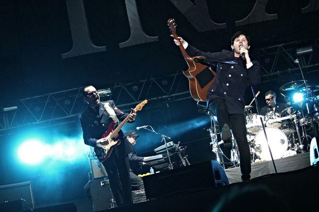 Aussie rockers INXS.
