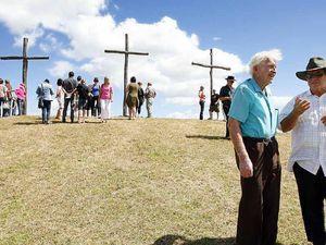 Pilgrimage to the crosses