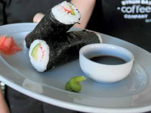 Sushi tempting the tastebuds