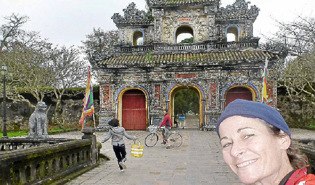 Former Coast police officer Maree Stephenson is well into her bike ride around the world. With a yearning for adventure, she began a bike-riding odyssey that will take her around the globe. She will leave Asia soon and head across to Russia.