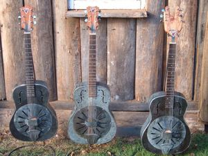 Bluesman builds bizarre guitars