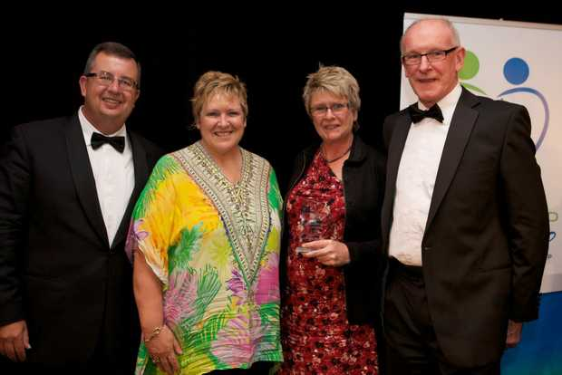 The winning Domain Coffs Harbour team - Gary Barnier, Joanne Hartley, Marie Newcombe and Ian Thorely. Photo: Submitted
