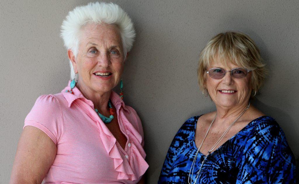 Autumne Camidge and Maureen White.