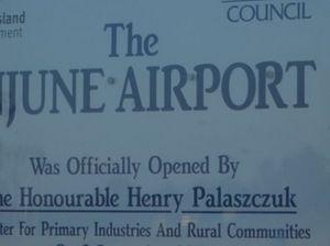 Candidates discuss Injune airport