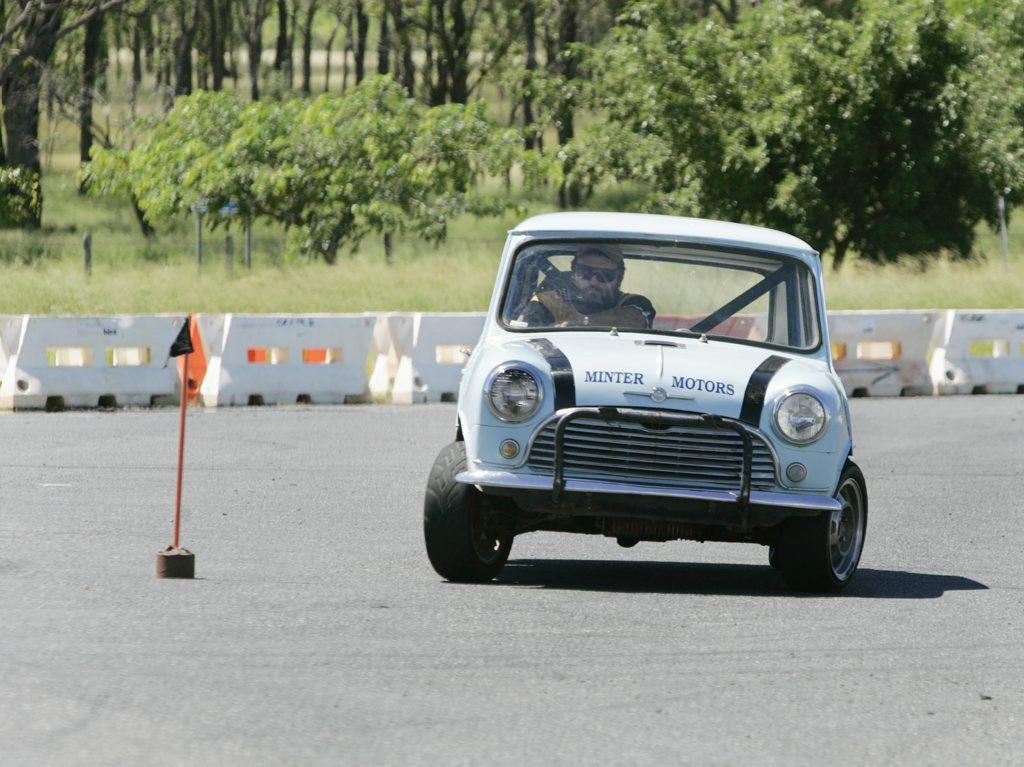 Andrew Mitchell. Mini. Qld Motorkhana Championship.