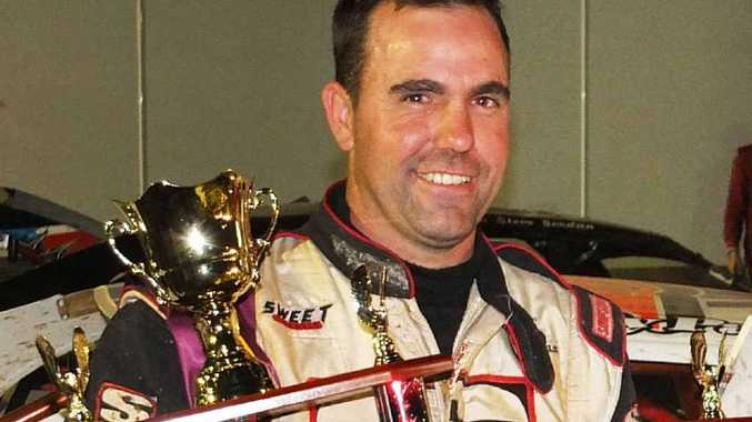 Ipswich super sedan driver Matt Pascoe after claiming second place at the Queensland Championships in Toowoomba last weekend.