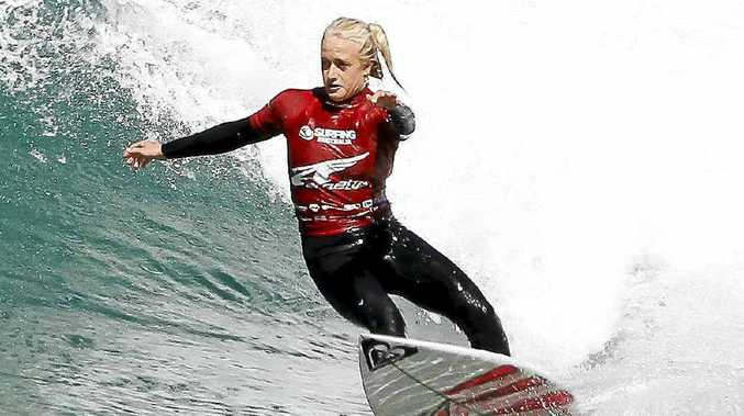 Suffolk Park surfer Kirstin Ogden won last year.