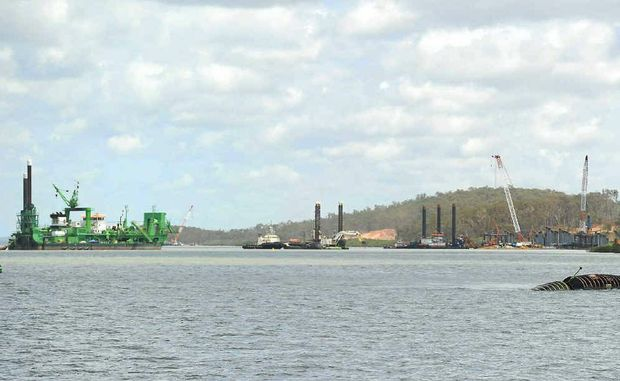 """Gladstone Harbour testing shows it's not """"toxic"""", however, Erin Brockovich says she is worried about destruction of the harbour."""