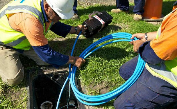 This is what Gladstone needs – and fast. Infrastructure to run the NBN.