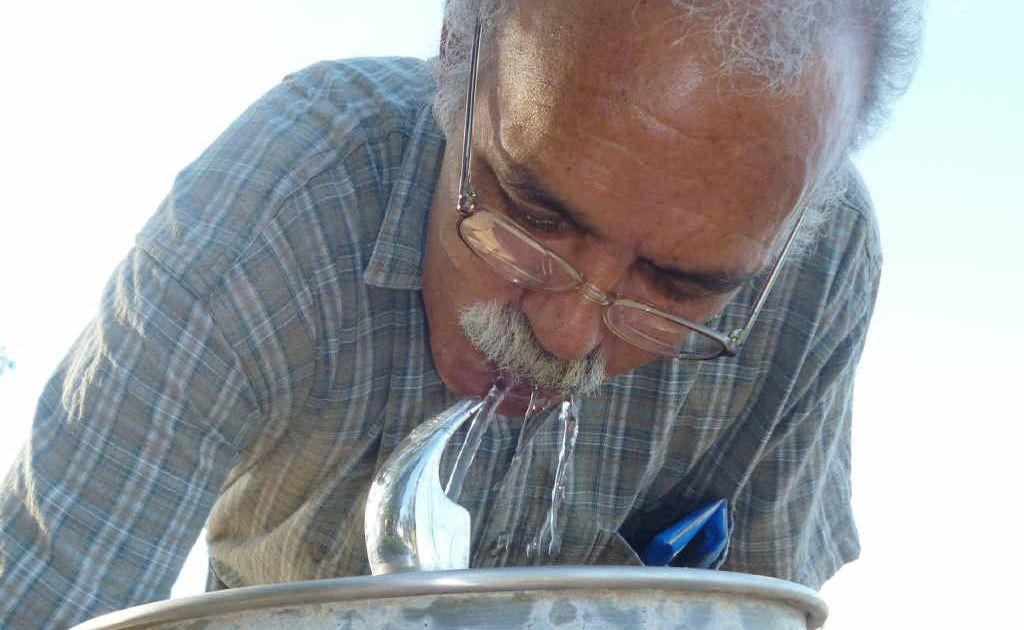 Robin Hatfield doesn't mind drinking Rockhampton water.