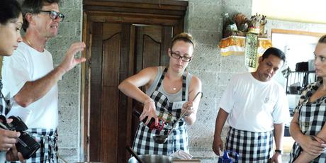 Chef Heinz von Holzen's cooking school Bumbu Bali.