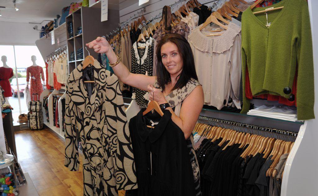 Tanya Larconde at Frangipani Clothing.