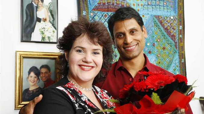 Angela and Sunny Jacob of Brassall will celebrate their 10th wedding anniversary today and say they've never had bad luck because of Friday the 13th.