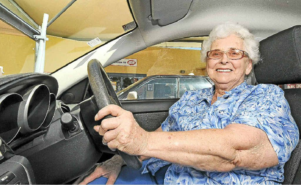 Fay Edwards of Goonellabah loves being independent and is still driving at 77 years.