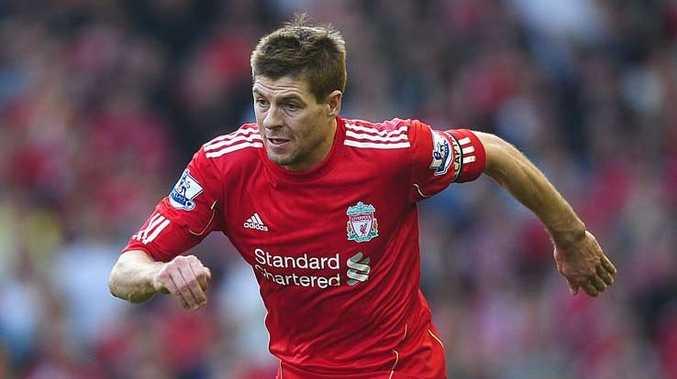 Liverpool captain Steven Gerrard.