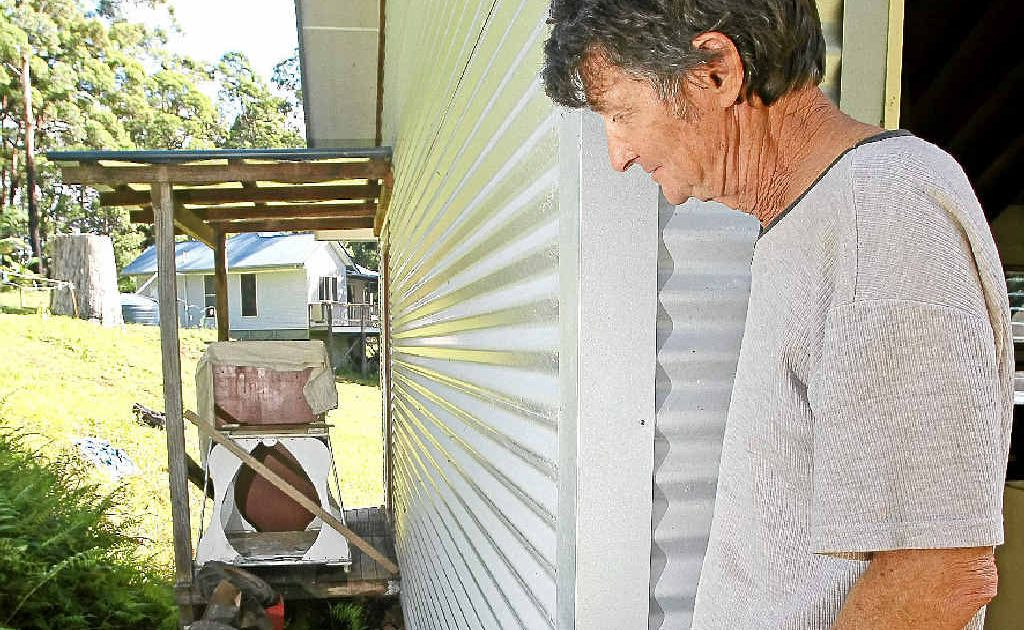 John Brennan reflects on the frightening accident that could have claimed his life, the third incident in two weeks on the Northern Rivers, one of which proved fatal.