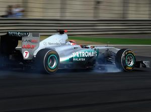 Schumacher fastest in practice: GP