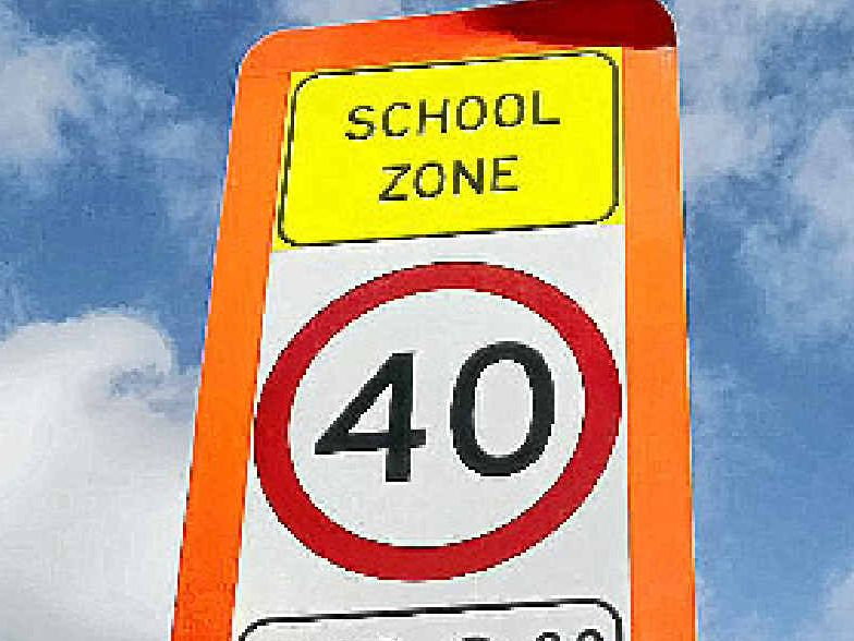 Previous school speed zones are changing.