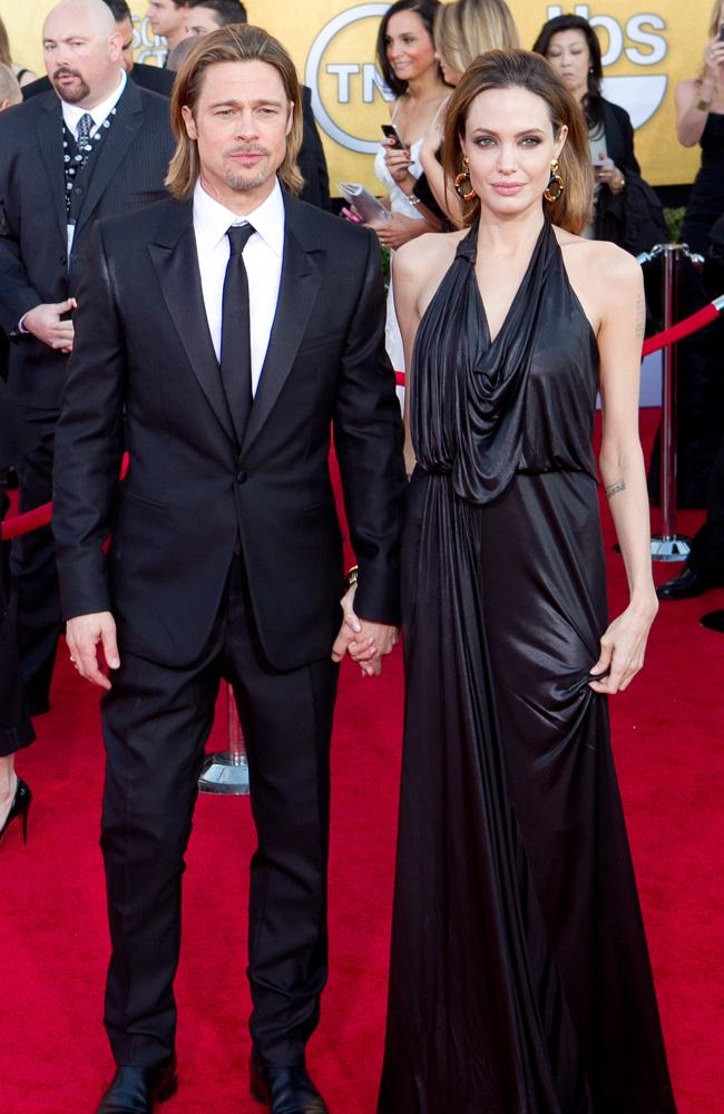 Brad Pitt and Angelina Jolie are officially engaged.