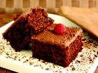 RECIPE for rich chocolate squares from Symply Too Good To Be True book 4.