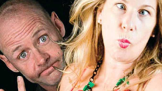 Mandy Nolan and Nick Penn will host a comedy evening fundraiser.