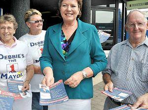 Blumel jumps to meet voters