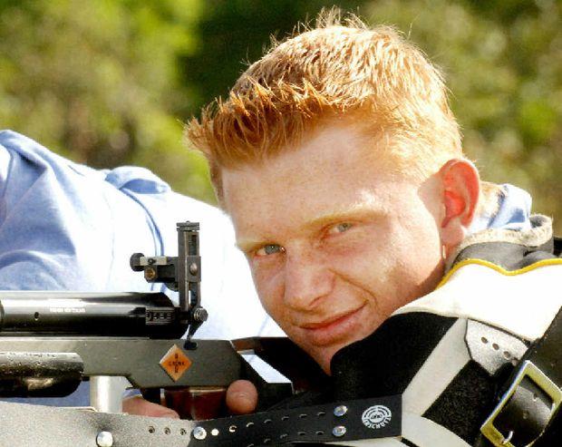 Grafton Rifle Club member Robert Black who made the NSW U/25 Rifle Team and the NSW 'F' Class team.
