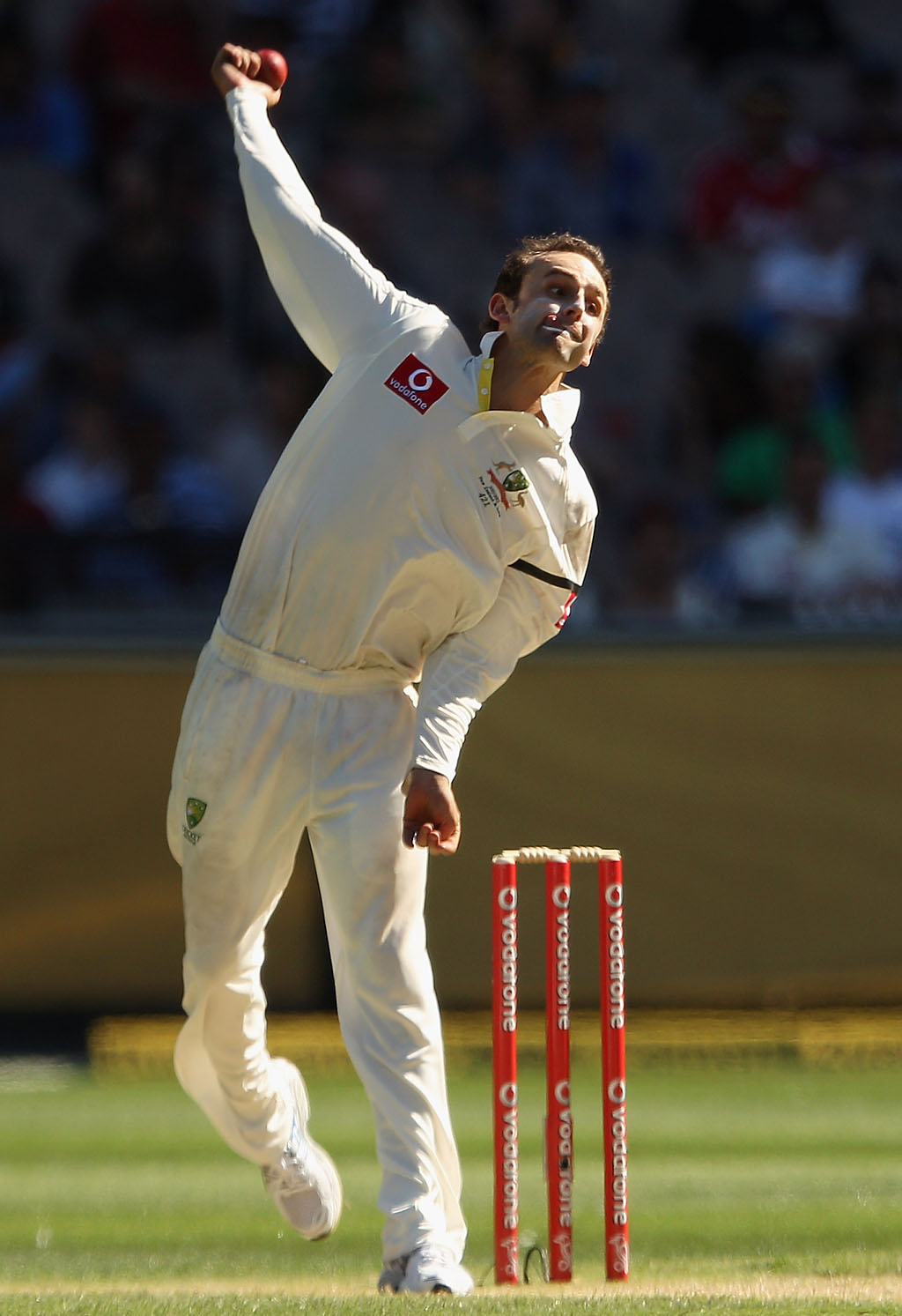 Nathan Lyon is the only spinner named in the Ashes squad.