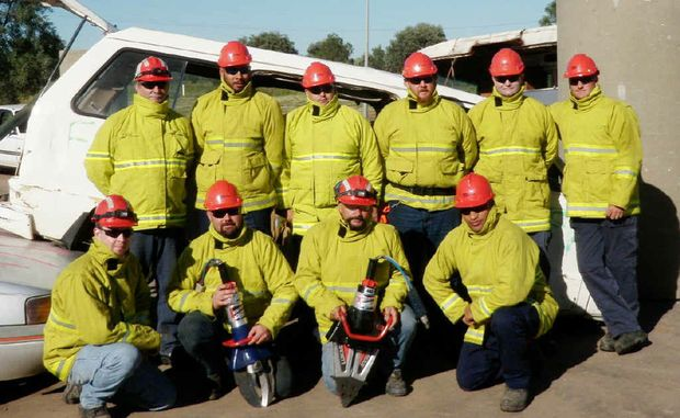 Curragh's Emergency Response Team is all set to partake in the upcoming competition in Hobart.