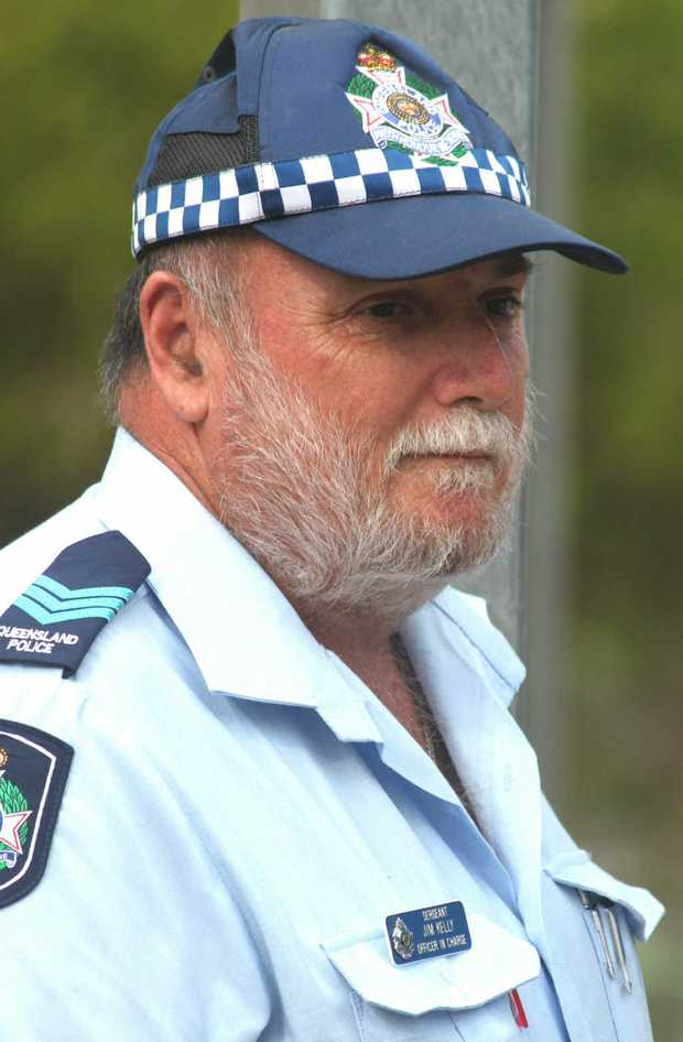 Sergeant Jim Kelly retires after 35.