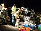 Two injured in head-on crash