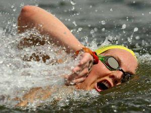 Gorman pops into Bay for swim
