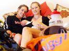 Triathlete Tim Reed with Wife Monica and new bub Oscar.
