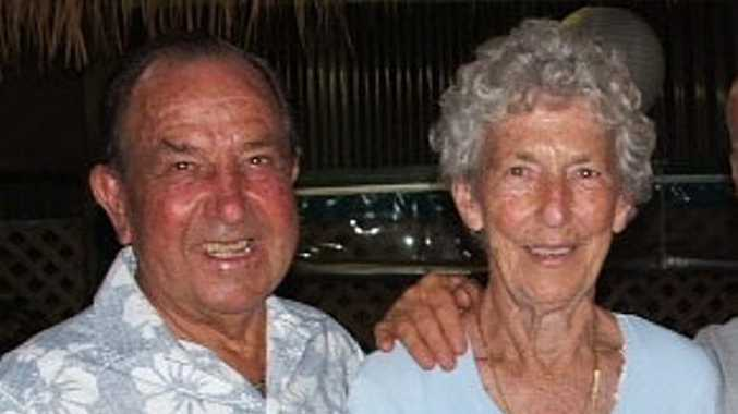 CLUB PATRONS: Evans Head Over 8s Malibu Club are sad at the recent passing of Patsy Scott pictured here with husband Wally. Photo contributed.