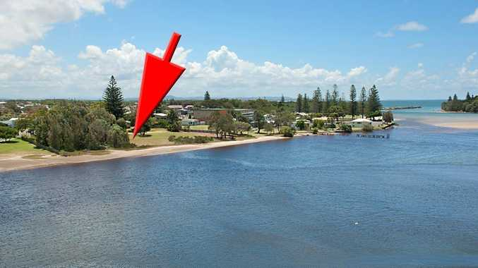 Prime Evans Head real estate which sold recently at auction for $950,000. Photo Contributed